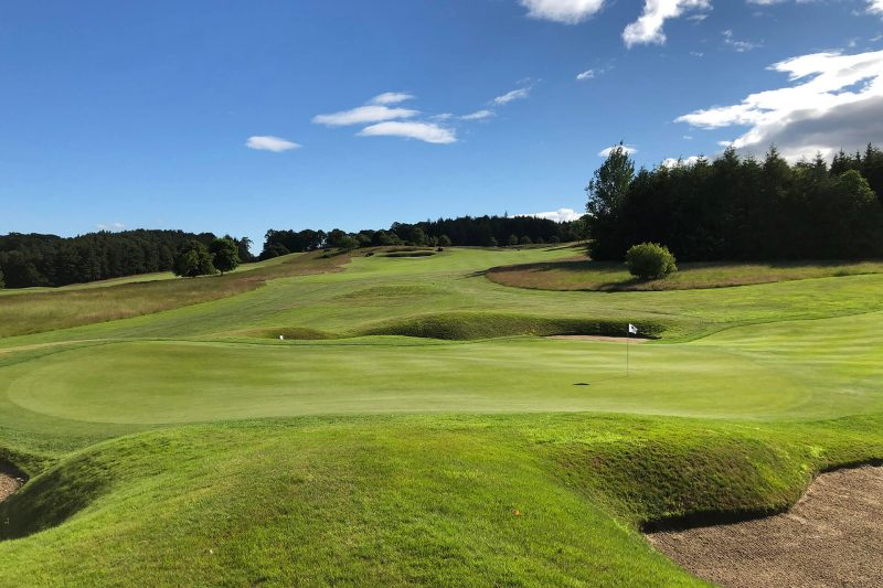 Gold Courses in the Scottish Borders