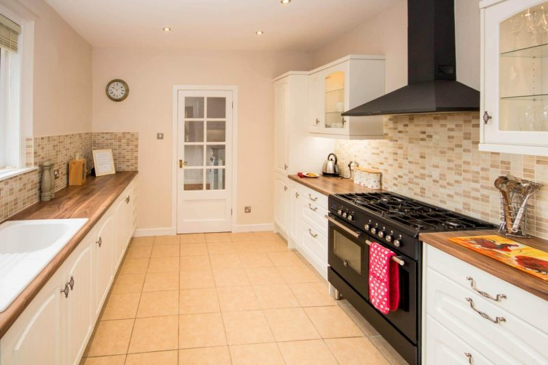 The Lodge kitchen towards utility